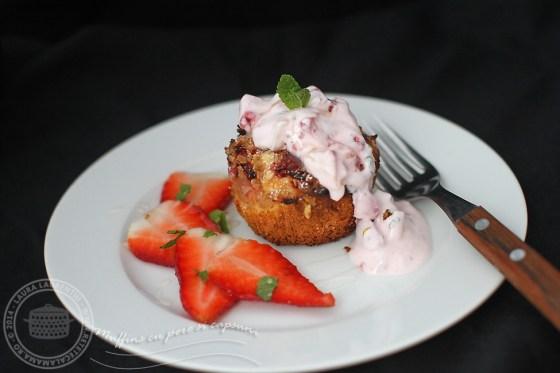 muffins cu pere si capsuni 2