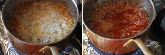 preparare sirop de caramel