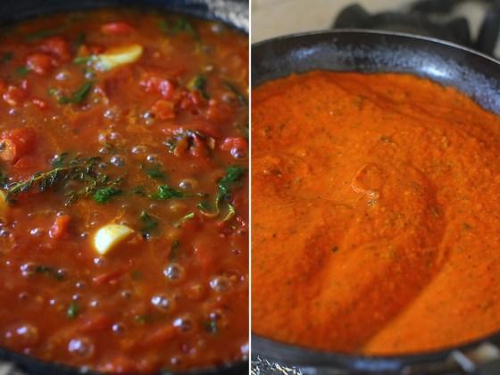sos de rosii pentru paste mod preparare 2