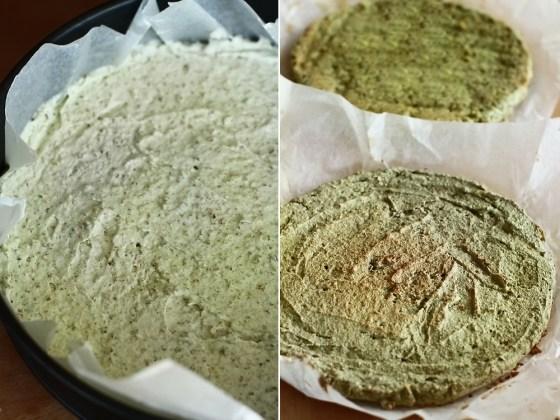 preparare blat de fistic - eierlikoer torte 2
