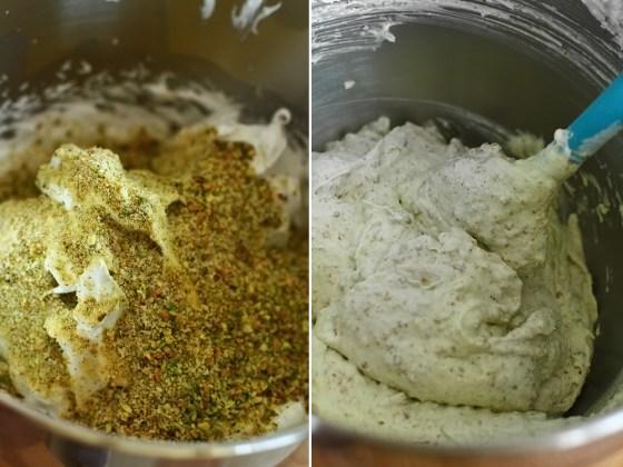 preparare blat de fistic - eierlikoer torte