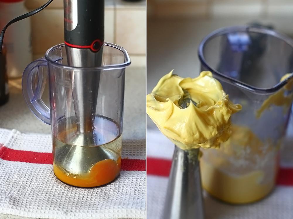 prajitura cu prune reteta laura laurentiu, preparare aluat pandispan 1