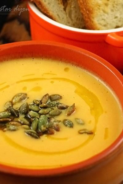 supa crema de dovleac cu mustar 2