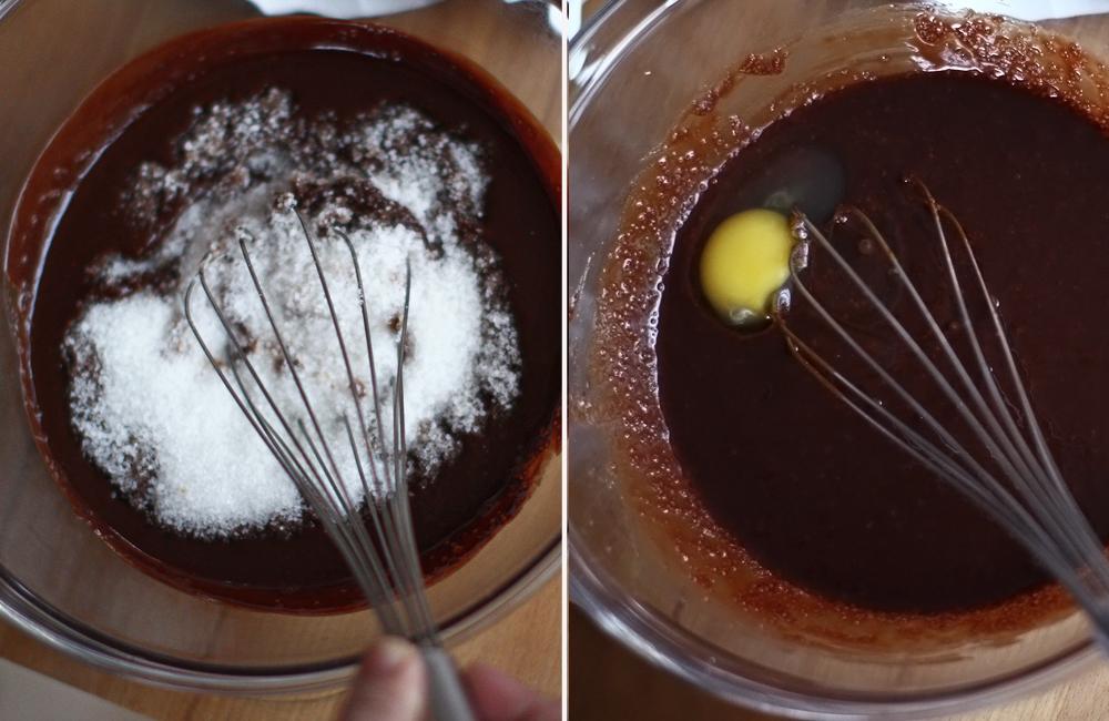 mod de preparare brownie 2