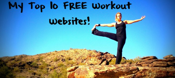My Top 10 FREE Online Workout Sites