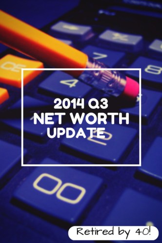 2014 Q3 Net Worth Update