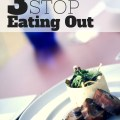 Eating out is so expensive! Learn how to lower food costs with these 3 ways to stop eating out!