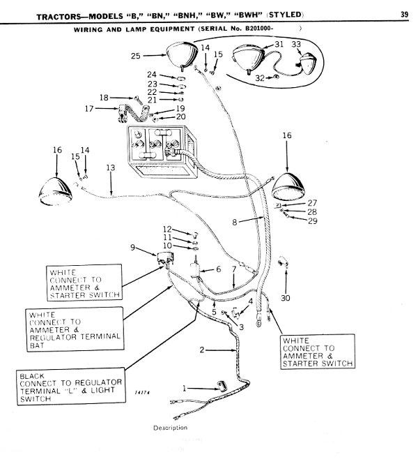 1952 john deere b wiring diagram