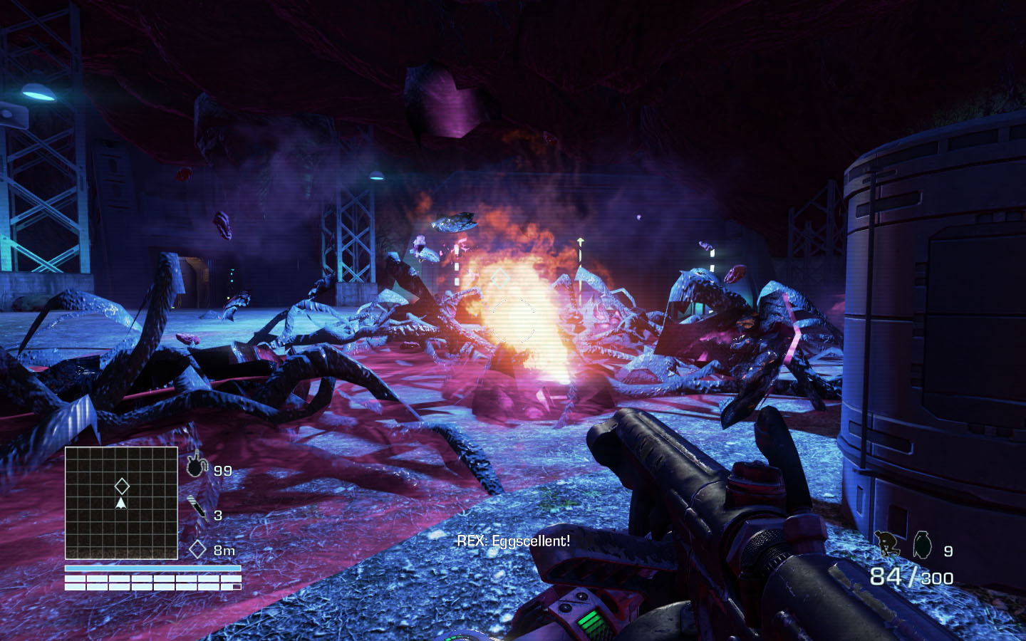 3d Action Game Wallpaper Far Cry 3 Blood Dragon Retro Synthwave