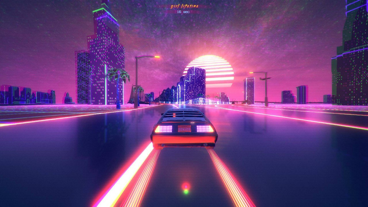 Night Rider Car Wallpapers Power Drive 2000 Retro Synthwave