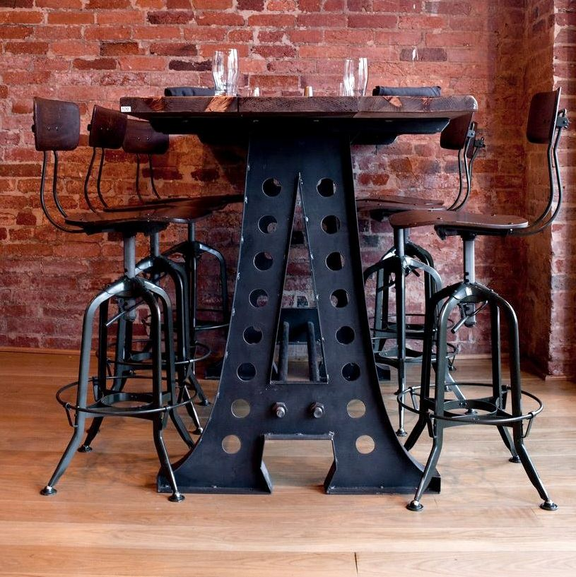 A Frame Dining Table Vintage Industrial Furniture
