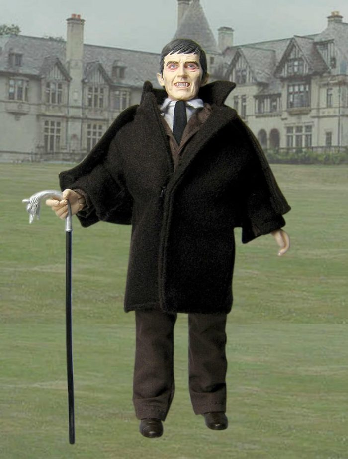 Vampire Barnabas Collins from 'Dark Shadows' as an action figure.
