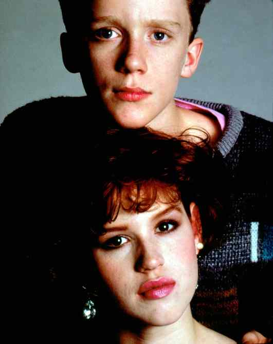 anthony michael hall molly ringwald dated in real life