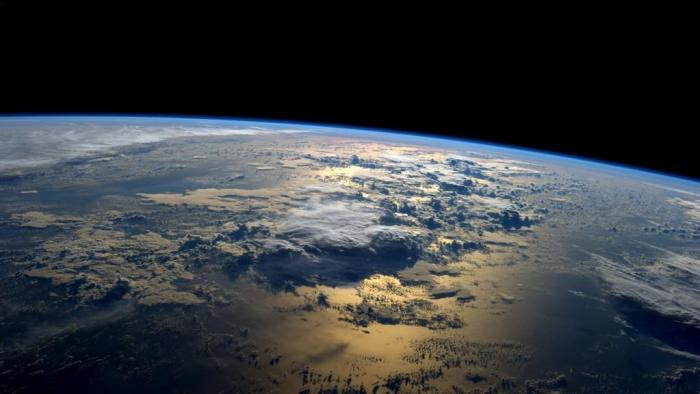 An astronaut's view of Earth from space