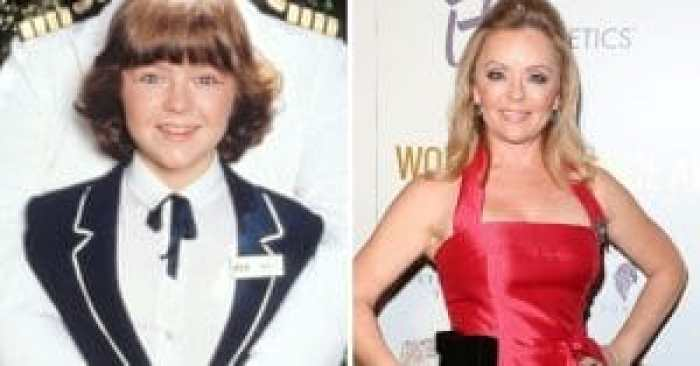 Jill Whelan in the Love Boat cast as Vicki and today