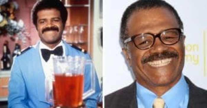 Ted Lange then and now