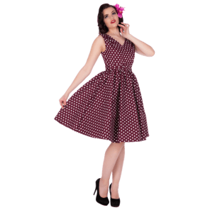 Purple Polka Dot Wendy Dress BUY