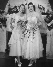 50er Brautfrisur
