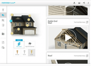 FORTIFIED Home On the Go interactive tablet app gives information to strengthen homes against natural disasters.
