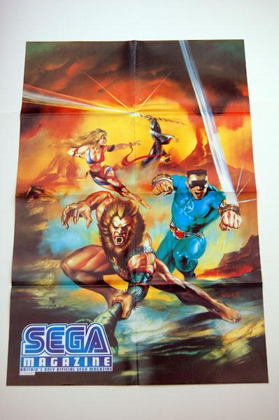 Eternal Champions poster from Sega Magazine