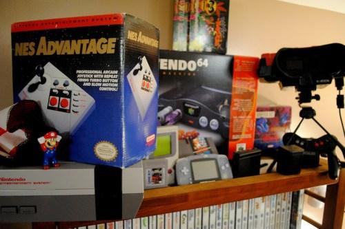 The 'Nintendo shelf'