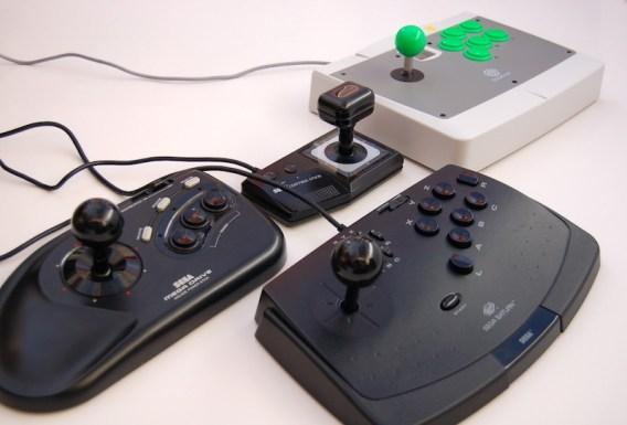 Sega Arcade sticks assembled...