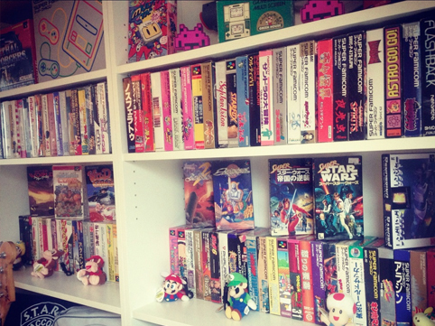 Games Shelf