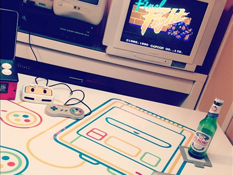 Super Famicom table