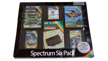 Spectrum Six Pack as bundled with 48K Spectrums
