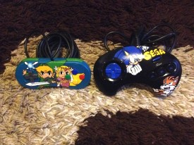 SNES and Megadrive controllers