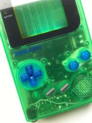 Clear green DMG