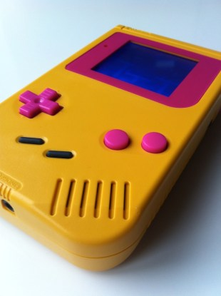 Yellow and pink DMG