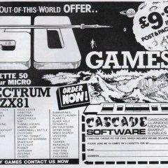 Early Sinclair ZX81 software adverts