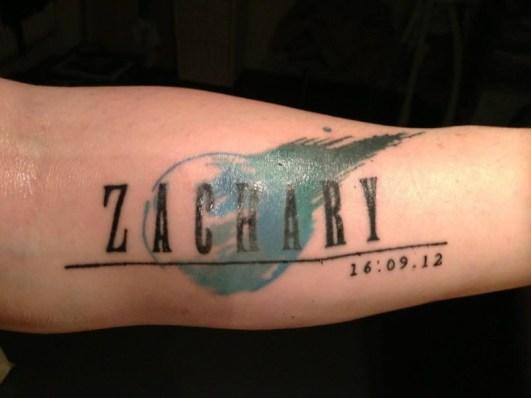 Zack Tattoo