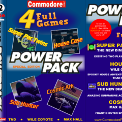 Commodore Format Power Pack 62 now available – 19 years on