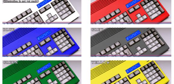 Amiga A1200 new housings Kickstarter campaign