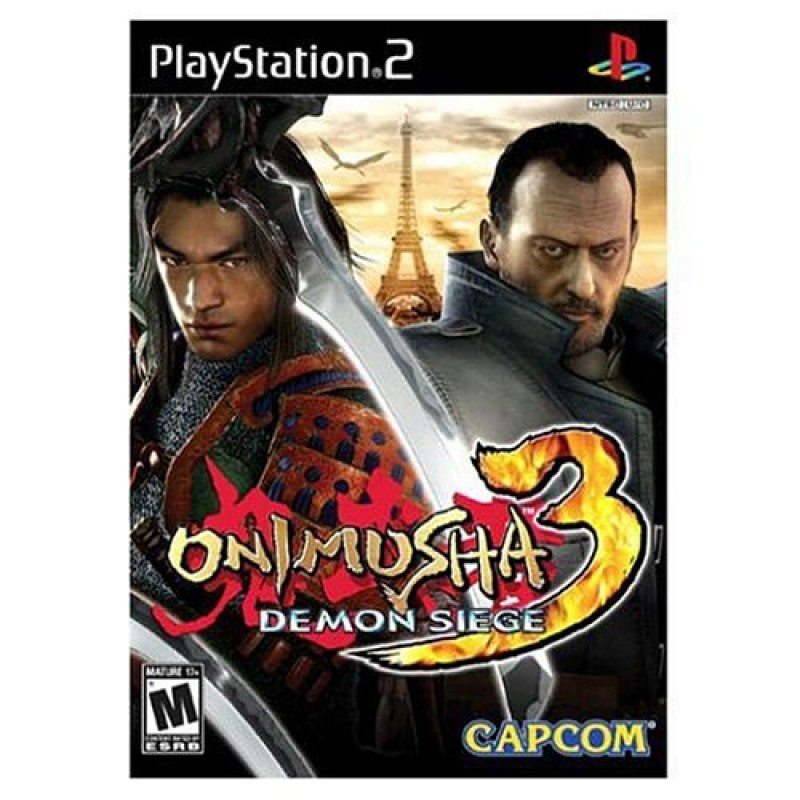 Stores That Have 3d Wallpaper Ps2 Game Onimusha 3 Demon Siege Brand New Factory Sealed