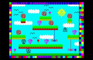 Zx Spectrum - Mysterious Dimensions [2016]