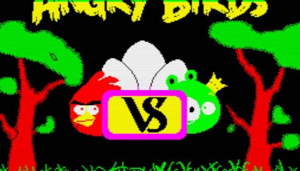 Zx Spectrum - Angry Birds Opposition [homebrew]