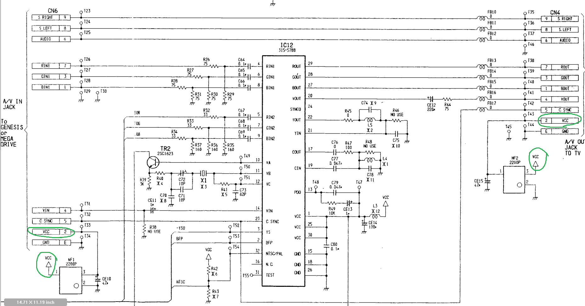 Sega Genesis Wiring Diagram Colecovision Auto Sony