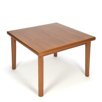 Danish vintage square coffee table - Retro Studio