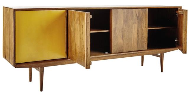 buffet vintage maison du monde trendy wooden vintage bookcase in grey orange w cm vintage