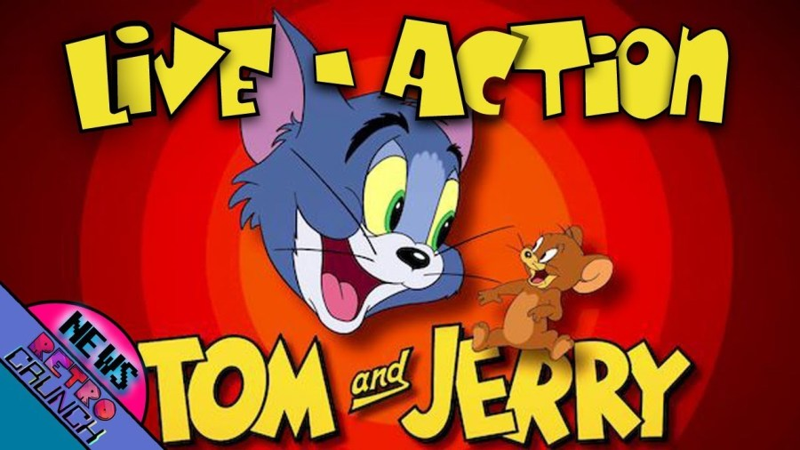LIVE-ACTION TOM AND JERRY MOVIE (2021) | And MORE Retro News!