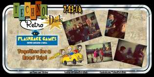 TechnoRetro Dads Take a Road Trip to Flashback Games Retro Arcade