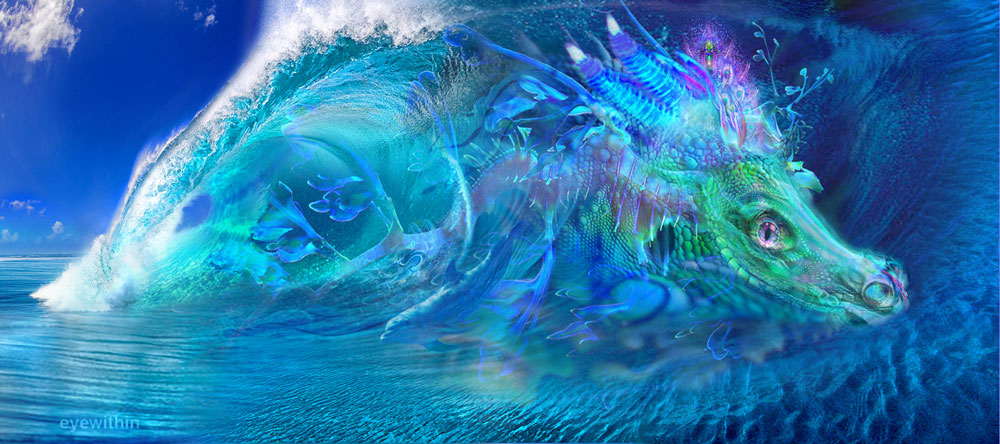 3d Galactic Wallpaper The Meaning Of Dragon In My Life