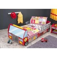 Lit camion de pompier - lit enfant