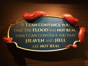 A Satanic Warning Message