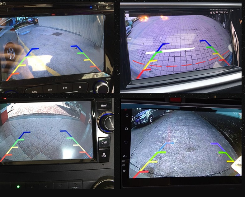 2018 Backup / Rear view camera wiring  installation Guide Reverse