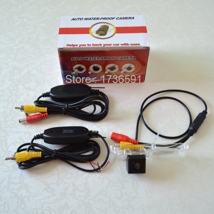 Wireless Camera For Toyota Highlander / Kluger XU40 MK2 / Car Rear