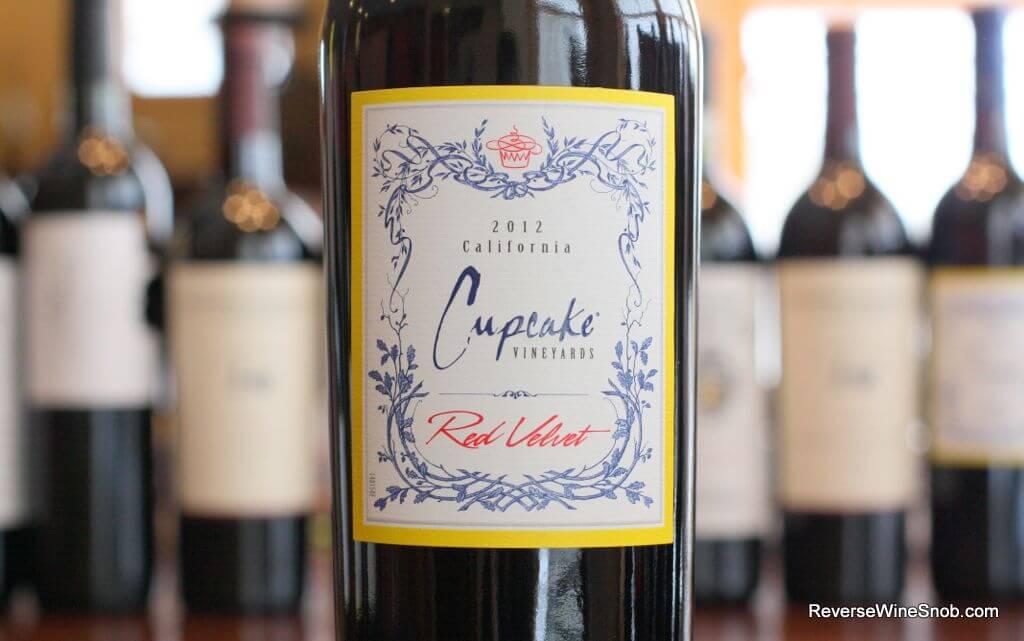 Cupcake Vineyards Red Velvet - The Name Says It All \u2022 Reverse Wine Snob®